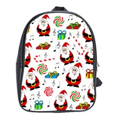 Xmas song School Bags(Large)