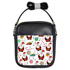 Xmas song Girls Sling Bags