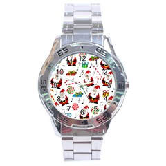 Xmas song Stainless Steel Analogue Watch