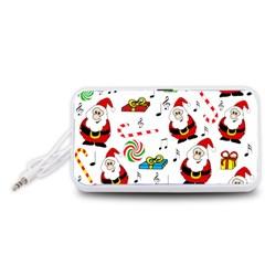 Xmas song Portable Speaker (White)