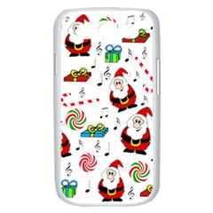 Xmas song Samsung Galaxy S III Case (White)