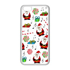 Xmas song Apple iPhone 5C Seamless Case (White)