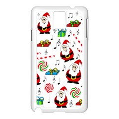 Xmas song Samsung Galaxy Note 3 N9005 Case (White)