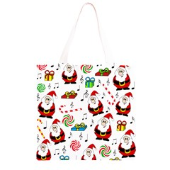 Xmas song Grocery Light Tote Bag