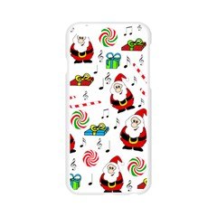 Xmas song Apple Seamless iPhone 6/6S Case (Transparent)