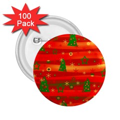 Christmas magic 2.25  Buttons (100 pack)