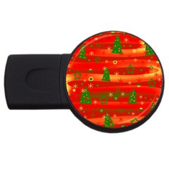 Christmas magic USB Flash Drive Round (1 GB)
