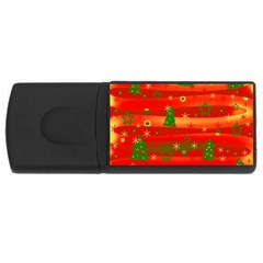 Christmas magic USB Flash Drive Rectangular (1 GB)