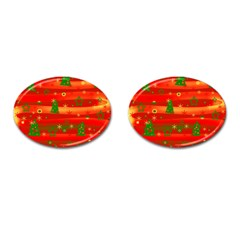 Christmas magic Cufflinks (Oval)