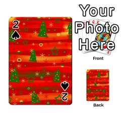 Christmas magic Playing Cards 54 Designs