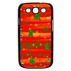 Christmas magic Samsung Galaxy S III Case (Black)