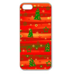 Christmas magic Apple Seamless iPhone 5 Case (Clear)