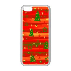 Christmas magic Apple iPhone 5C Seamless Case (White)