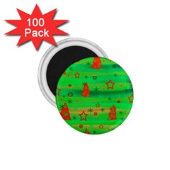 Xmas magical design 1.75  Magnets (100 pack)
