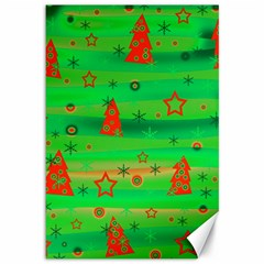 Xmas magical design Canvas 12  x 18