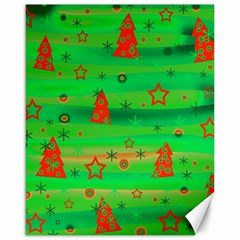 Xmas magical design Canvas 16  x 20