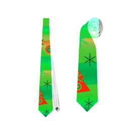Xmas magical design Neckties (One Side)