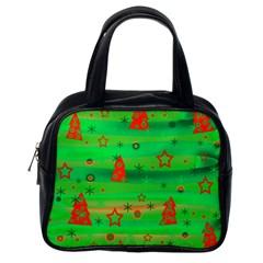 Xmas magical design Classic Handbags (One Side)