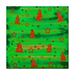 Xmas magical design Face Towel
