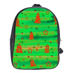 Xmas magical design School Bags(Large)