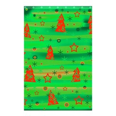 Xmas magical design Shower Curtain 48  x 72  (Small)