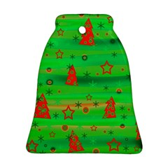 Xmas magical design Bell Ornament (2 Sides)