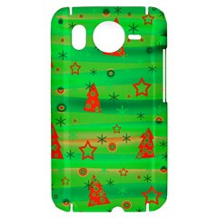 Xmas magical design HTC Desire HD Hardshell Case