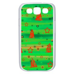 Xmas magical design Samsung Galaxy S III Case (White)