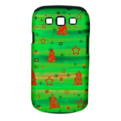 Xmas magical design Samsung Galaxy S III Classic Hardshell Case (PC+Silicone)