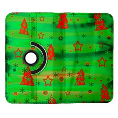 Xmas magical design Samsung Galaxy Note II Flip 360 Case