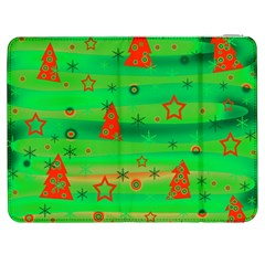 Xmas magical design Samsung Galaxy Tab 7  P1000 Flip Case