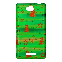 Xmas magical design Sony Xperia C (S39H)