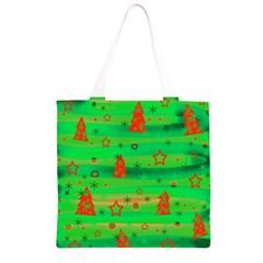 Xmas magical design Grocery Light Tote Bag