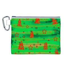 Xmas magical design Canvas Cosmetic Bag (L)