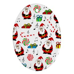 Xmas song Ornament (Oval)