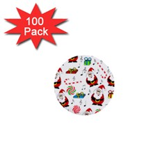 Xmas song 1  Mini Buttons (100 pack)
