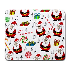 Xmas song Large Mousepads