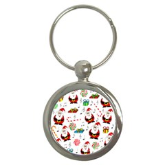 Xmas song Key Chains (Round)