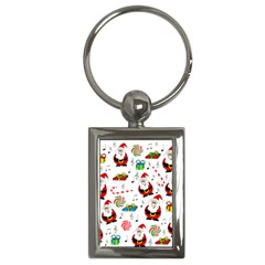 Xmas song Key Chains (Rectangle)