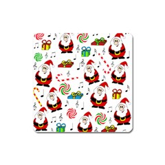 Xmas song Square Magnet