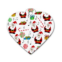 Xmas song Dog Tag Heart (One Side)
