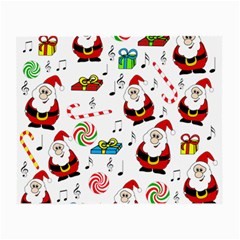 Xmas song Small Glasses Cloth (2-Side)