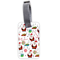 Xmas song Luggage Tags (One Side)