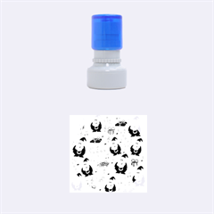 Xmas song Rubber Round Stamps (Small)