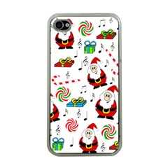 Xmas Song Apple Iphone 4 Case (clear)