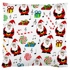 Xmas song Large Cushion Case (Two Sides)