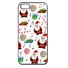 Xmas song Apple iPhone 5 Seamless Case (Black)