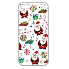 Xmas song Apple Seamless iPhone 5 Case (Clear)