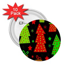 Merry Xmas 2.25  Buttons (10 pack)