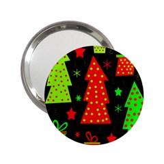 Merry Xmas 2.25  Handbag Mirrors